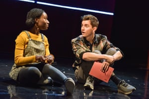 Heather Agyepong and Billy Harris in Noughts & Crosses.