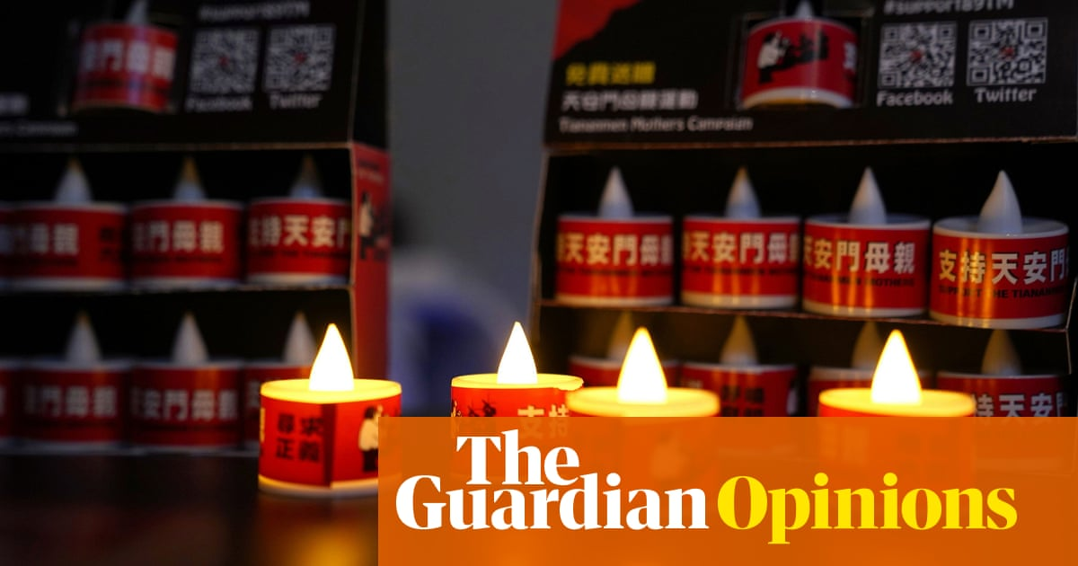 The Guardian view on remembering Tiananmen 1989: mourning for those who cannot