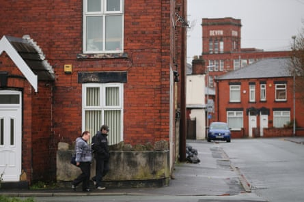 Terraced homes in Oldham, Greater Manchester.