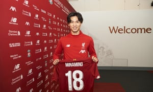 Takumi Minamino will officially become a Liverpool player on 1 January and is understood to have a contract to 2024.