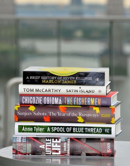 The 2015 Booker shortlist, topped with James' 700-page winning novel, and Yanagihara's 700-page bestseller, A Little Life.