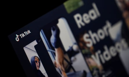 The logo of TikTok app.