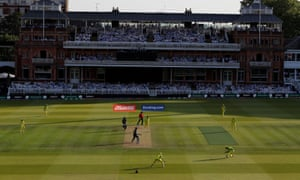 Lord's will host Sunday's Cricket World Cup final between England and New Zealand.