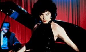 Isabella Rossellini as Dorothy Vallens in Blue Velvet.