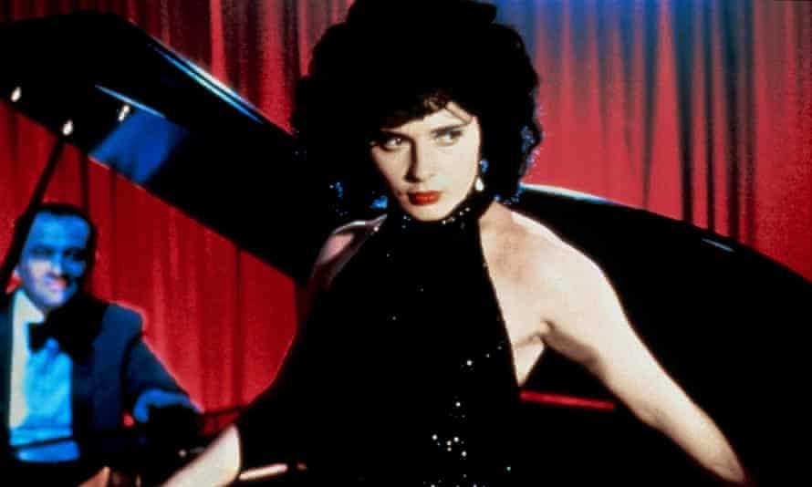 Memories of small-town America … Isabella Rossellini in Blue Velvet (1986).