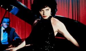Dysfunctional romantic rapture … Isabella Rossellini in Blue Velvet.