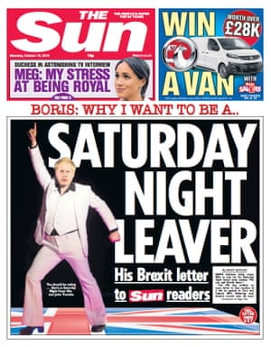 sun front page 19 october 2019