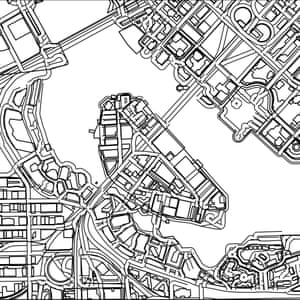 Quiz Can You Identify The City From Blank Street Map
