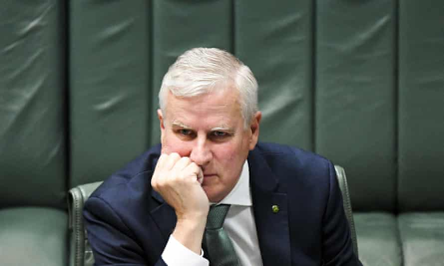 Nationals leader and acting prime minister Michael McCormack