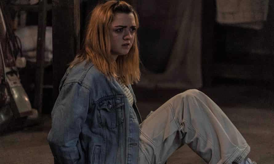 To the outside… Maisie Williams at The Owners.