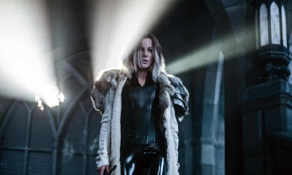 The franchise that refuses to die … Kate Beckinsale in Underworld: Blood Wars.