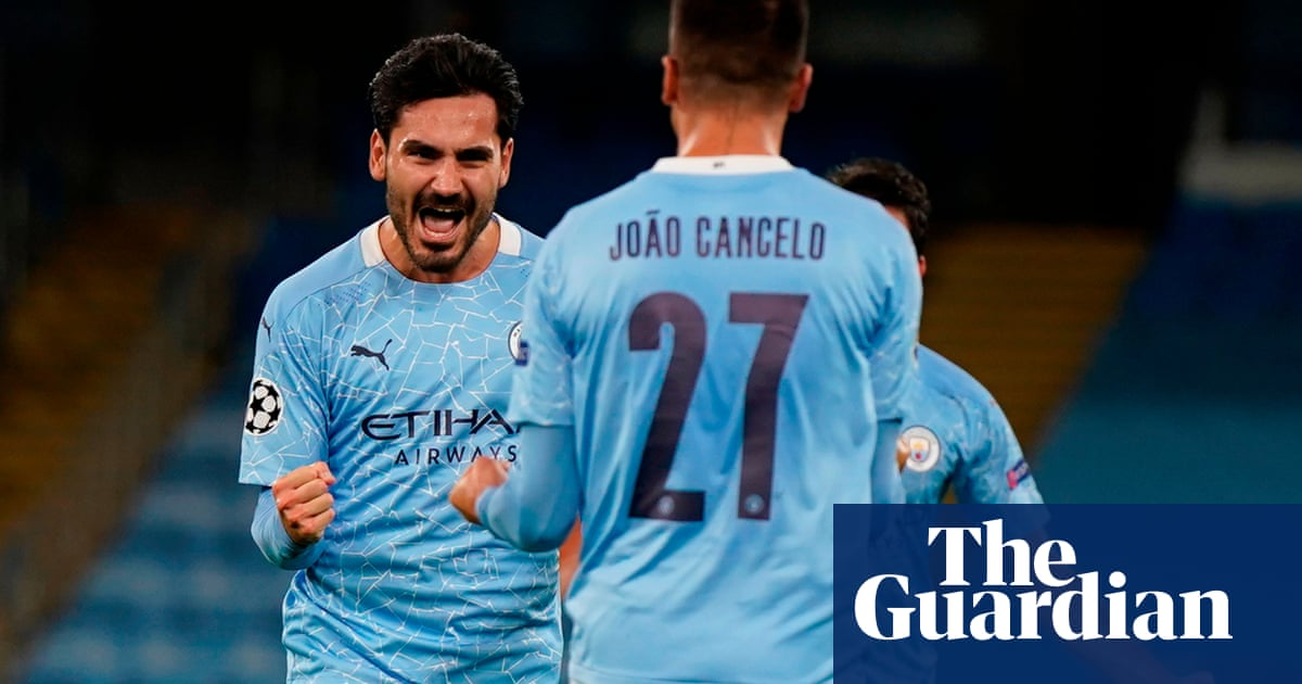 Ilkay Gündogan sets up Manchester City win over Porto but injuries mount up