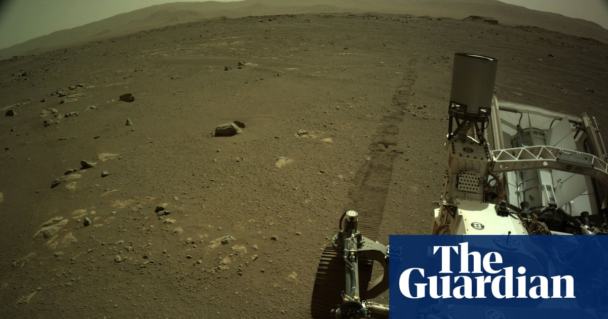 'I'd call for a tow': Mars Perseverance rover sounds a bit scratchy in first recorded drive