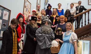 Staff love a dress up day at The Kingsley School, who can you spot in this crowd?