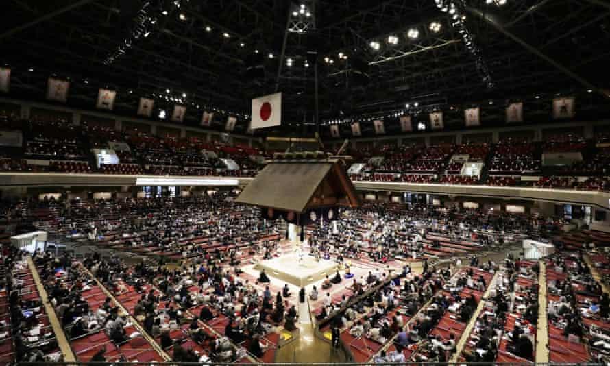 The Ryogoku Kokugikan arena usually hosts sumo wrestling.