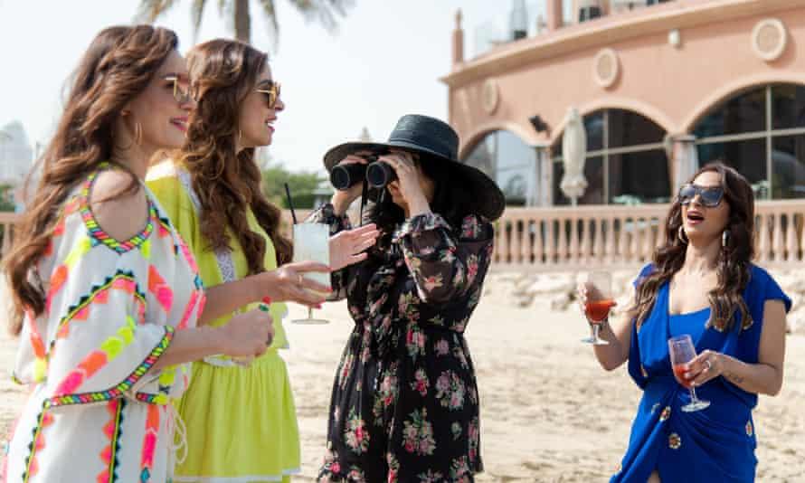 Feeling beachy ... Fabulous Lives of Bollywood Wives.