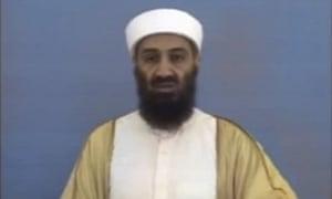 Osama bin Laden in a video released in May 2011