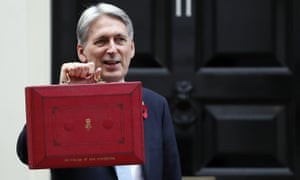 Philip Hammond on budget day