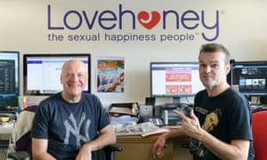 Lovehoney's cofounders Neal Slateford, left, and Richard Longhurst.
