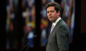 Gillon McLachlan said he helped his cousin Callum inquire about the visa status of a polo player.