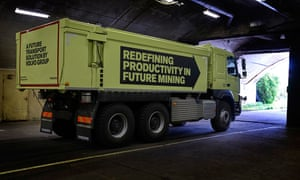The modified Volvo FMX truck