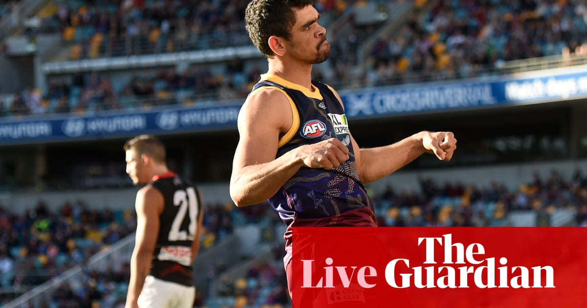 AFL 2020 round 13: Lions do enough to see off spirited Saints – as it happened – The Guardian