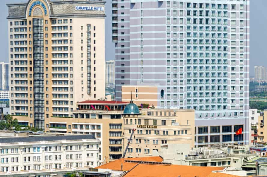 Critics say the historic centre of Ho Chi Minh City is increasingly being filled with generic architecture which could be anywhere in Asia.