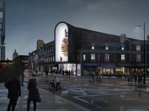 Museum of London design – Bjarke Ingels Group (DK) with Hawkins Brown, Donald Insall and Gehl Architects