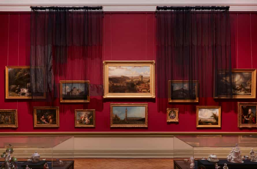 Installation view (2020) photographed in the Grand Courts at the Art Gallery of New South Wales