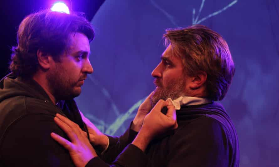 Brendan Quinn and Sean Donegan in Nutcase.