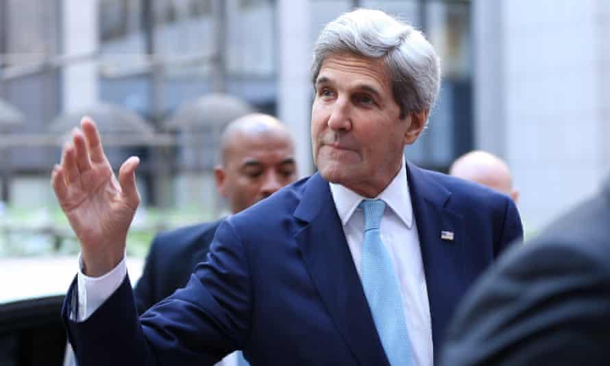 John Kerry in Brussels