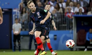 Ivan Rakitic will play his 71st game of the season in the final against France.