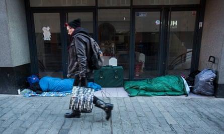 Homeless people in Birmingham