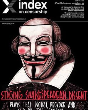 Latest issue of Index on Censorship.