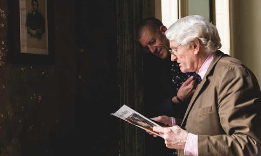 Diarmaid Ferriter and Cormac O'Malley in Keepers of the Flame.