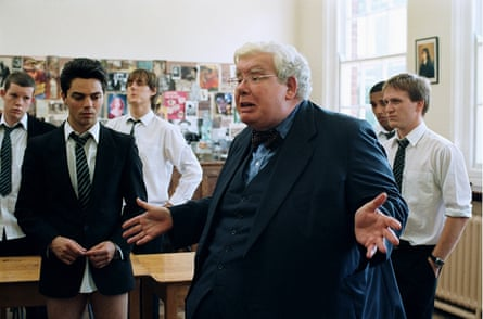 Class act … Richard Griffiths in The History Boys.