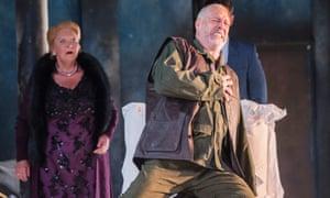 Paul Gay as Golaud in PelléŽas et MŽélisande by Claude Debussy at Garsington Opera. Directed by Michael Boyd. Conductor, Jac van Steen.