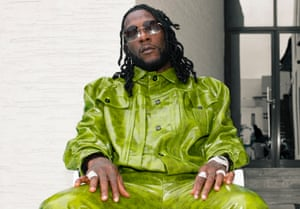 Burna Boy photographed in Lagos earlier this month