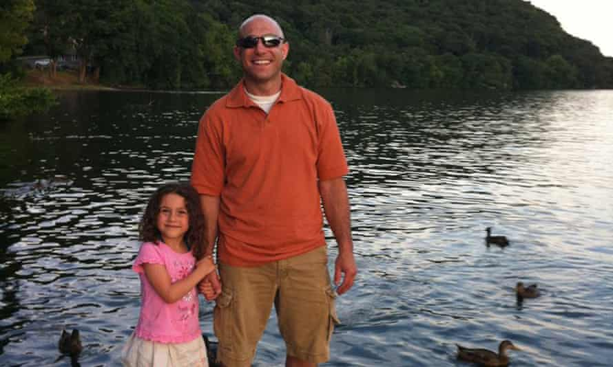 Jeremy Richman with his daughter Avielle