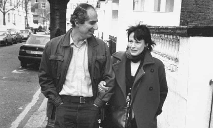 Philip Roth and Claire Bloom.