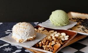 Ice-creams at Fatamorgana