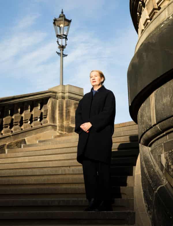 Cultural mix … Hilke Wagner, director of the Albertinum museum, Dresden.