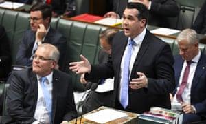 Michael Sukkar speaks in parliament