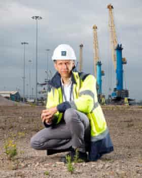 Matt Beeton, CEO of Port of Tyne