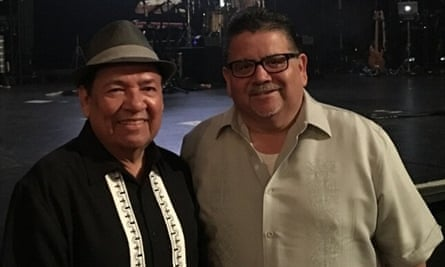 Brad Veloz (left) and Mike Rodriguez (right) in San Antonio.