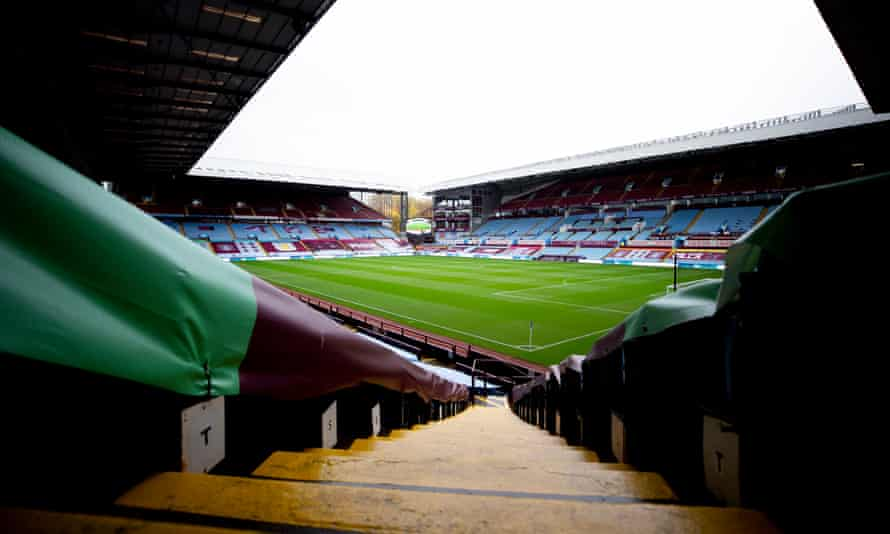 Most of Aston Villa's squad cannot emerge from self-isolation until Sunday – the day of the Everton game.