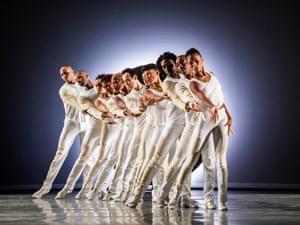 A scene from EN by Alvin Ailey American Dance Theater.
