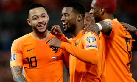 Euro 2020 qualifiers: Georginio Wijnaldum strikes for Netherlands