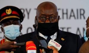 Ghanaian President Nana Akufo-Addo.