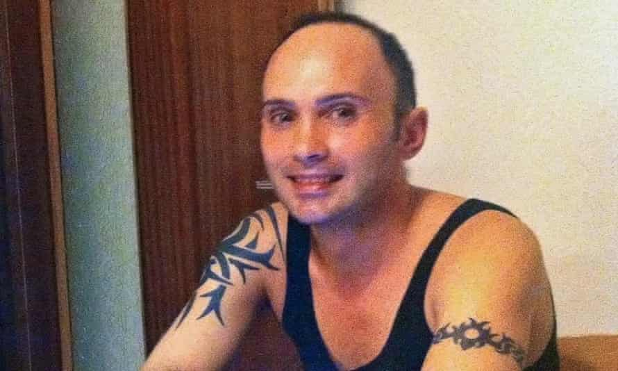Italian police offier Dino Maglio, in a photograph provided by one of his alleged victims
